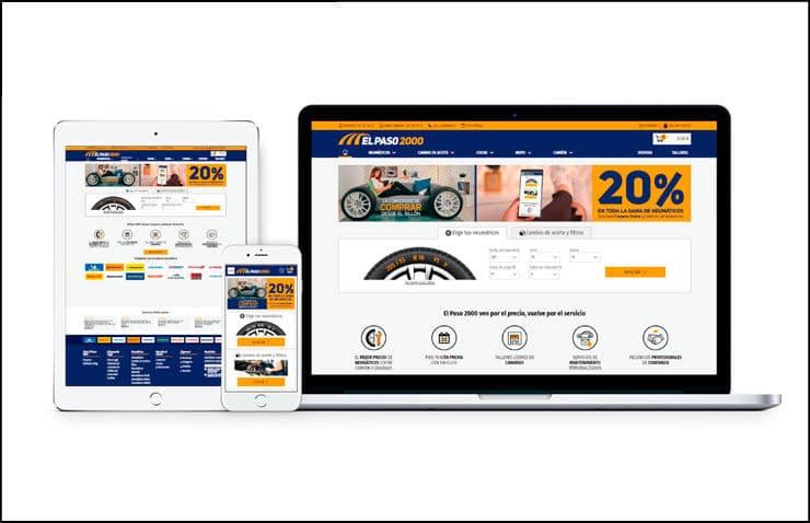 nueva plataforma online el paso 2000