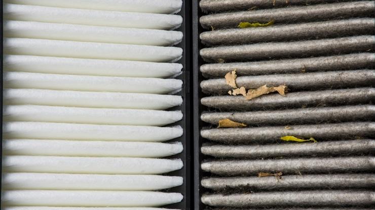 filtro aire nuevo obstruido